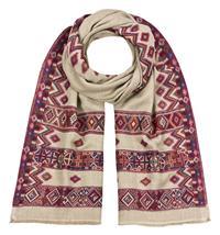 Wollschal 100% Fine Wool Ethnoschal Jamowarschal 70 x 200 cm Variation-