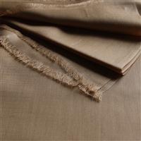 Handgefertigter Seidenschal goldbeige 45cm x 180 cm Variation-