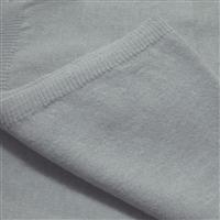Feinstrickschal Unisex hellgrau weichfließend aus 100% Kaschmir 45 x 180 cm Variation-