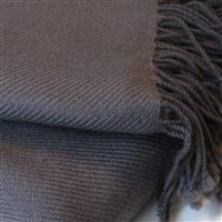 Premium Pashmina grau kiesel 100% Kaschmir doppelt verzwirnt 90cm x 200cm Variation-