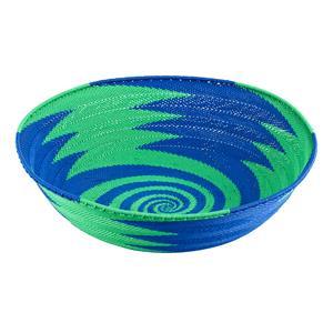 Wire baskets Körbe aus Telefondraht handgewebt in Kwa Zulu Natal Südafrika 25 cm