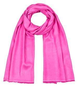 Handgefertigter Seidenschal pink 45cm x 180cm