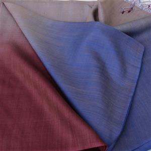 Regenbogenschal mit Farbverläufen 50% Wolle 50 % Seide Farbauswahl 73 x 205 cm