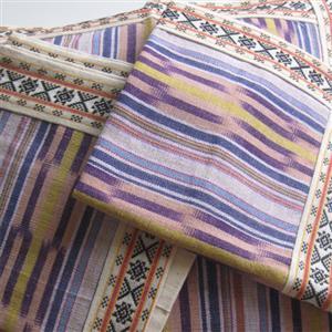 Kissenhüllen 3er Set IKAT Baumwolle 5 Farben
