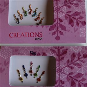 Bindiset Stirnbindis multicolor 2 Pakete