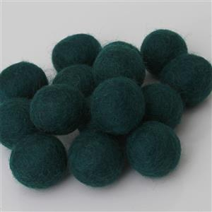 Filzbälle Filzkugeln handgefertigt Fairtrade 10 Stck. viele Farben ca. 2 cm reine Wolle
