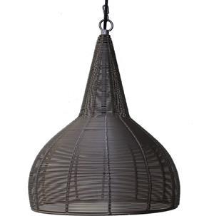 Maharanis Drahtlampe Pendelleuchte Hängeleuchte Industrial Design silber grau 60W