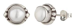 Ohrstecker 925er Silber mit Süßwasserperle